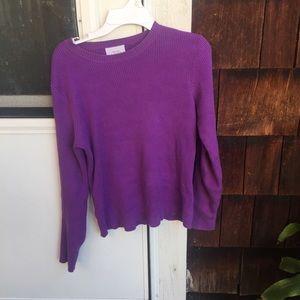 Tops - vintage purple top